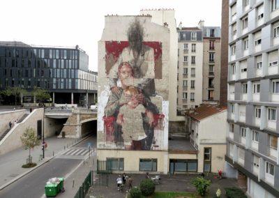 Borondo-Les Trois-Ages- Paris - for Nuit Blanche