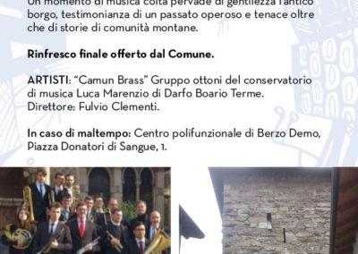BERZO DEMO_Opuscolo Palcoscenici19