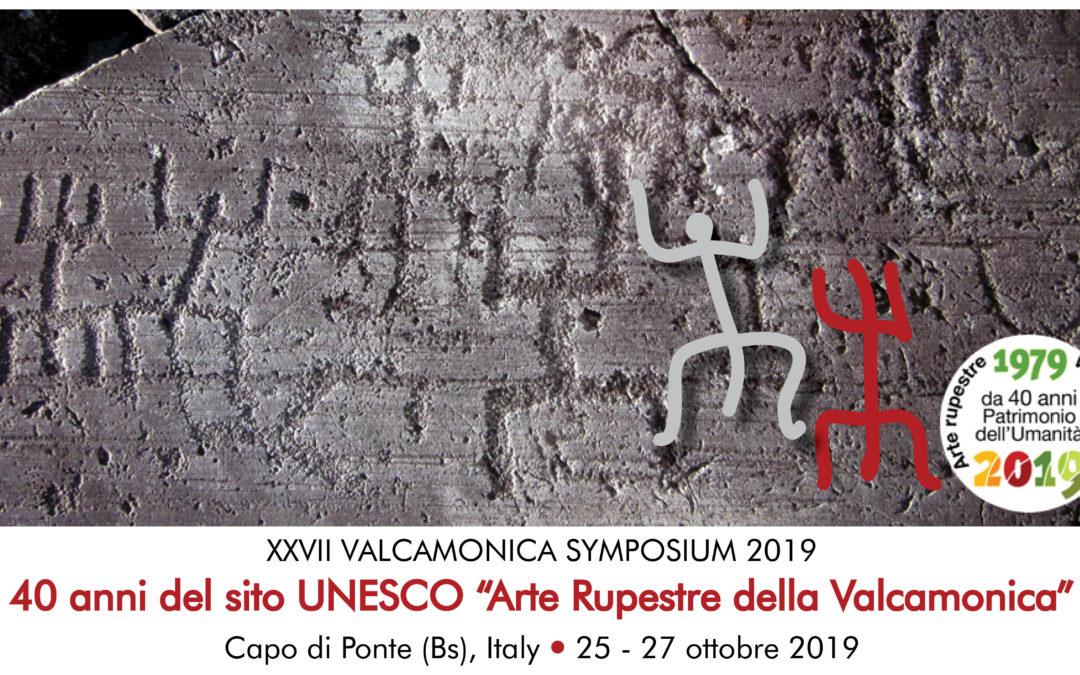 XXVII Valcamonica Symposium [Del Bene e del Bello 2019]