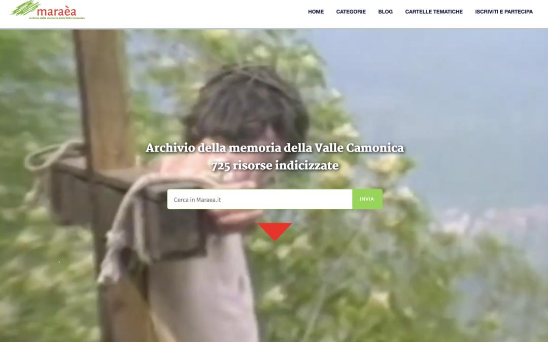 Una compagnia per la Valle Camonica: va online www.maraea.it