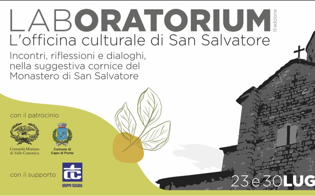 LABORATORIUM, 3 incontri al Monastero di San Salvatore