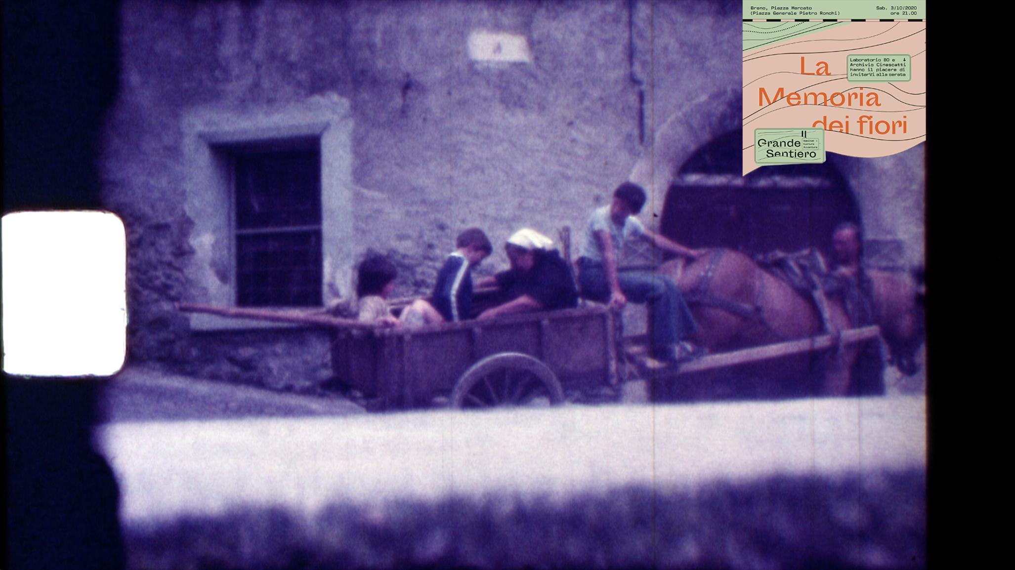 la memoria dei fiori - filmati storici valle camonica