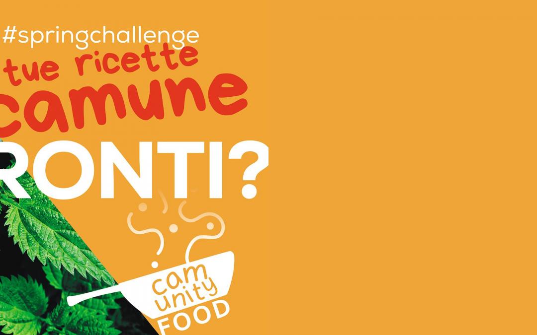 Community Food continua: al via la Spring Challenge!