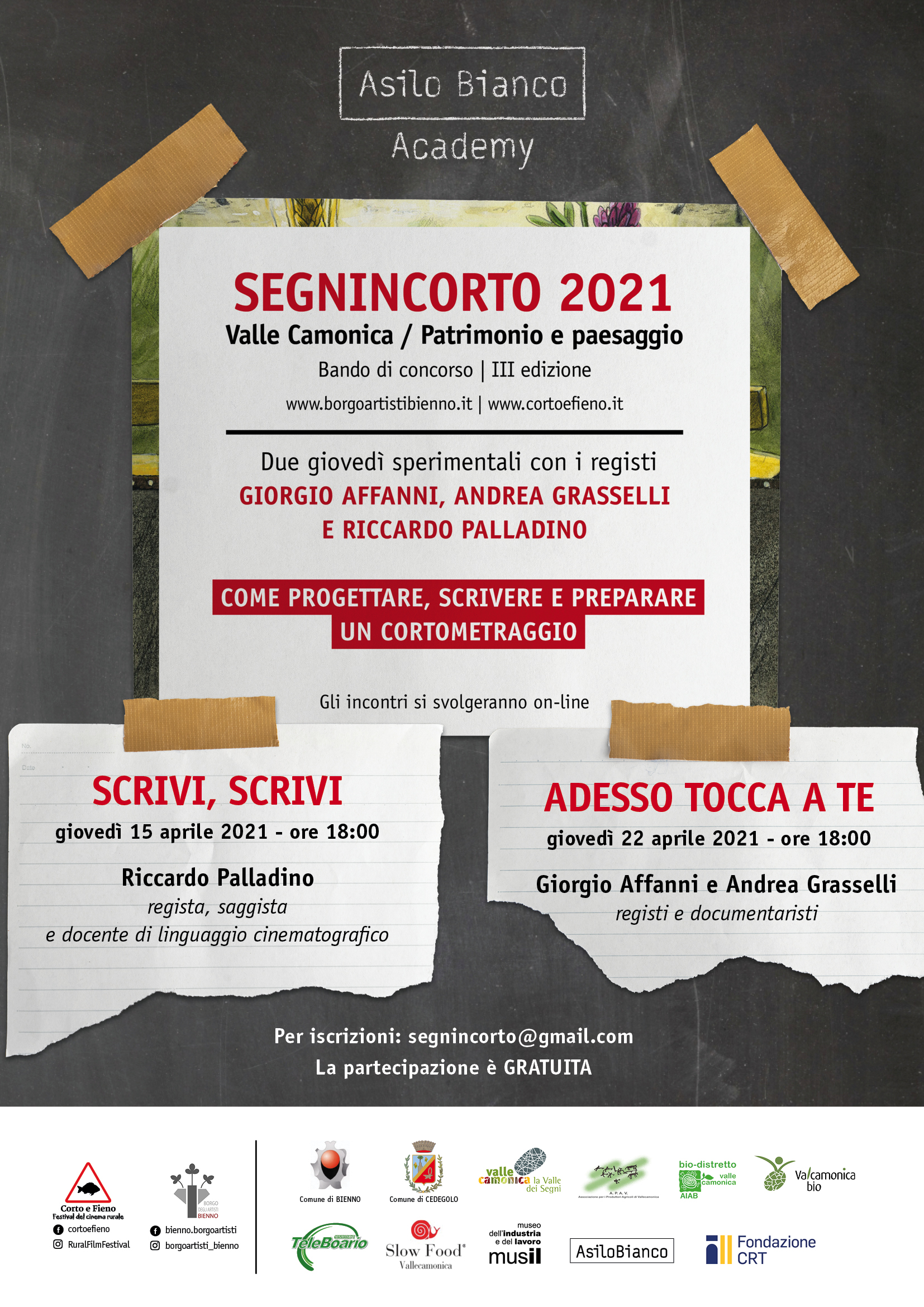 Workshop   Segnincorto   Valle Camonica