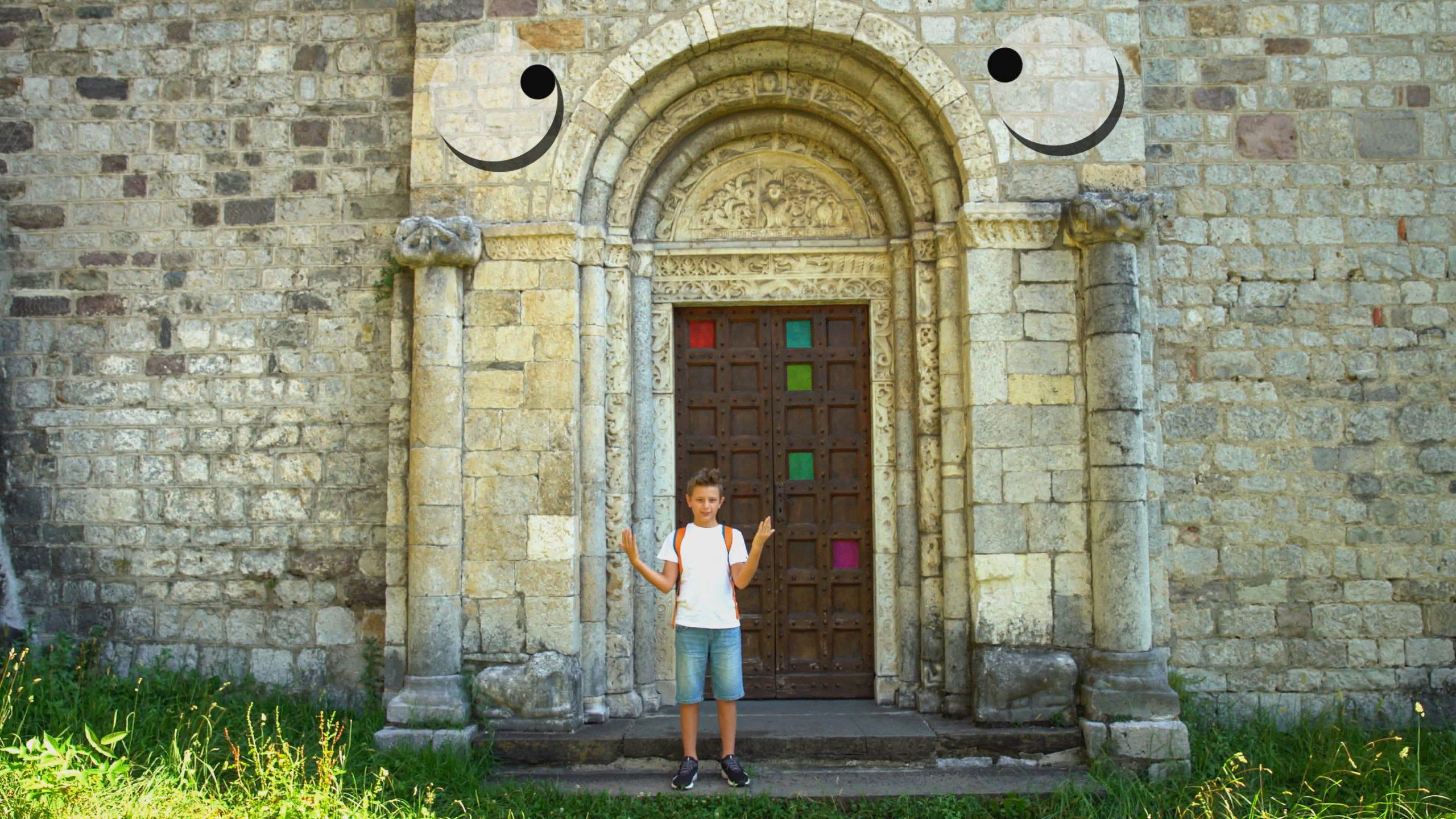 Andrea Forloni racconta la Valle Camonica in LIS, la lingua dei segni italiana