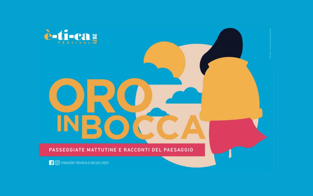 """Luca Mercalli e Franco Arminio in Valle Camonica per le prime due date di """"Oro in bocca"""""""