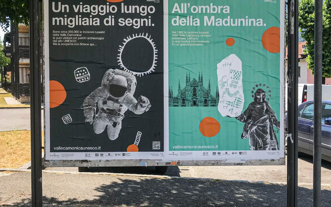 Manifesto Rupestre per le vie della Valle Camonica