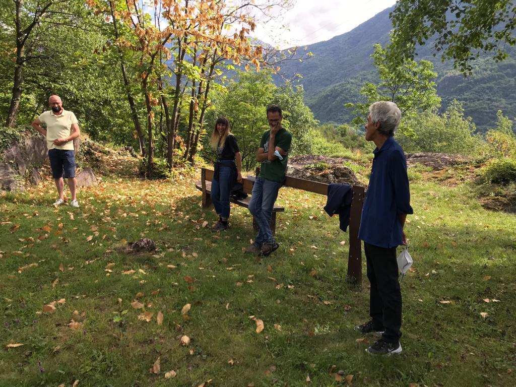 Alberto Marretta e Elisa Salvetti presentano il progetto del MetaParco di Seradina-Bedolina