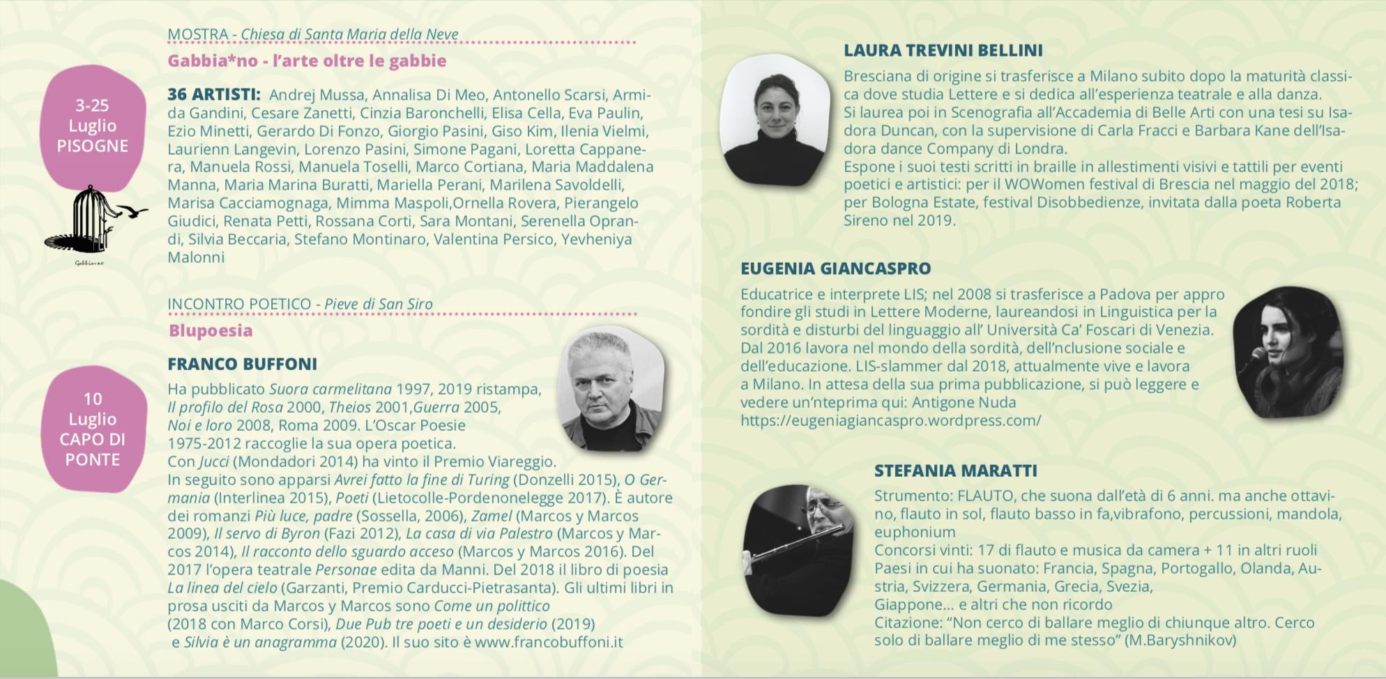 autori e protagonisti incerti luoghi festival poesia