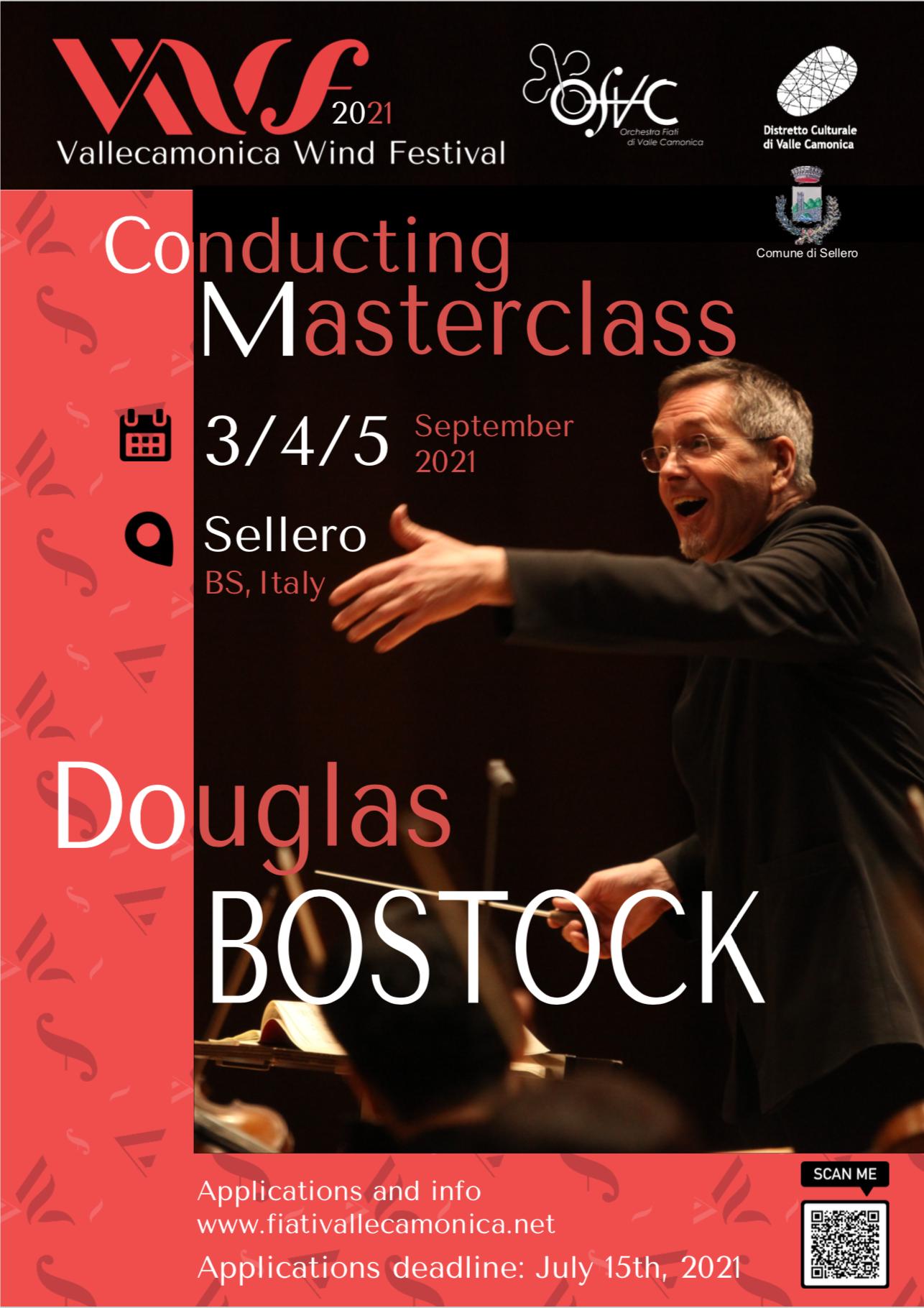 Douglas Bostock - Vallecamonica Wind Festival