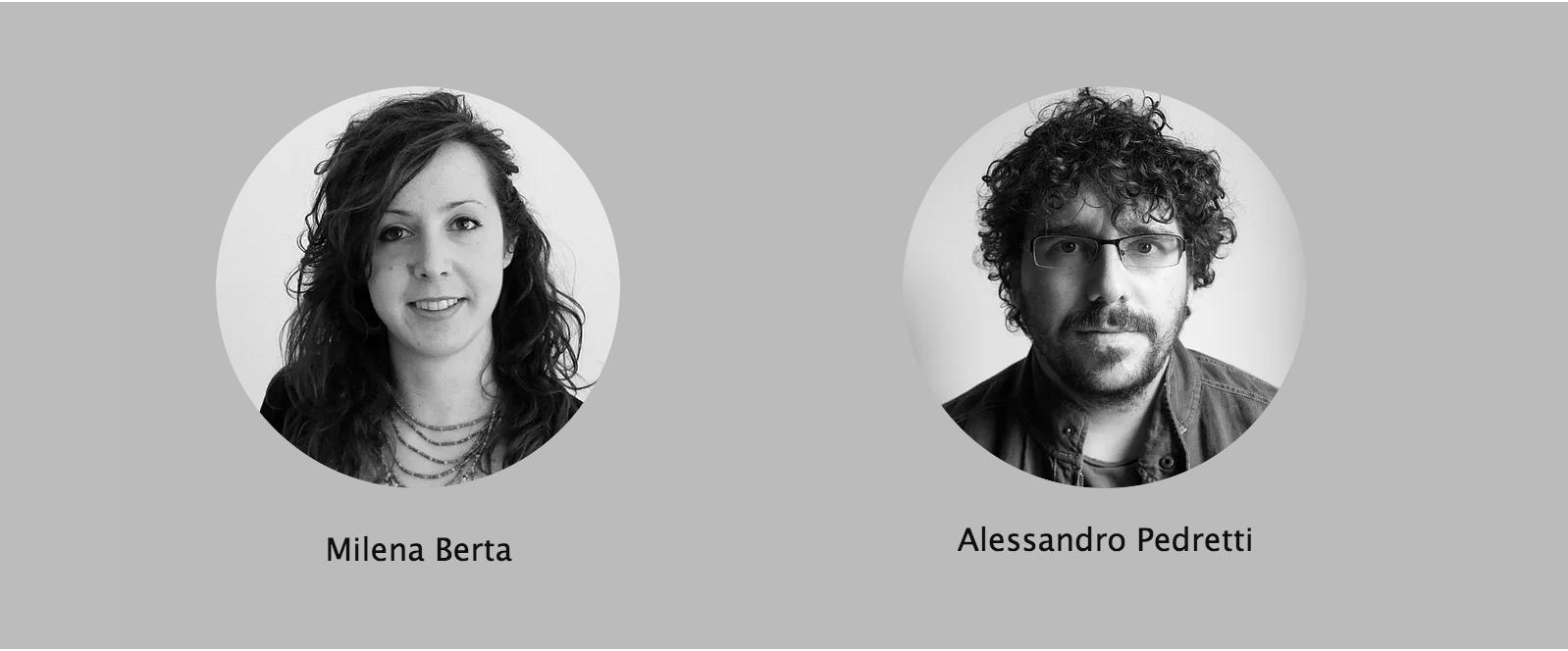 Milena Berta e Alessandro Pedretti