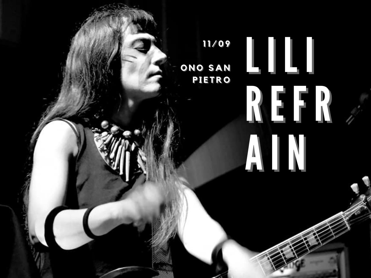 Lili Refrain - S/Tones - 11 settembre ono san pietro