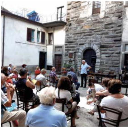 La sede del Macil: Palazzo Martinengo a Malonno