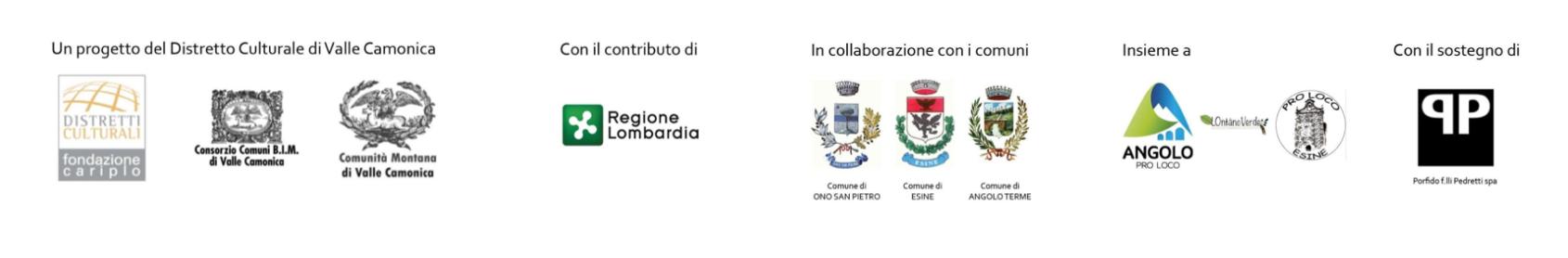 Loghi patrocinii S/TONES Valle Camonica