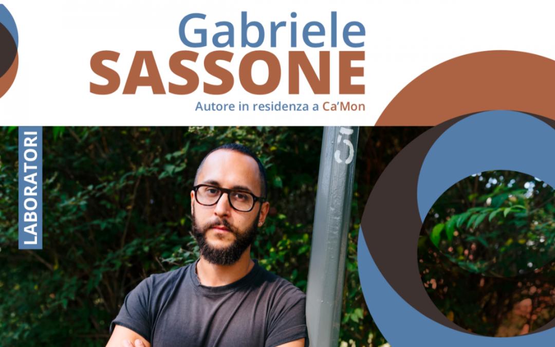 Lo scrittore Gabriele Sassone a Ca'Mon, per costruire una narrazione collettiva
