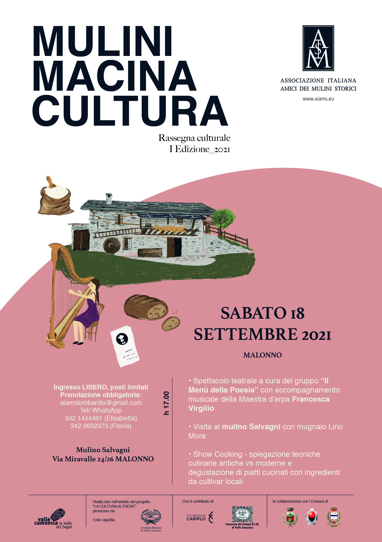 MULINI MACINA CULTURA. a Malonno - La Cultura Altrove