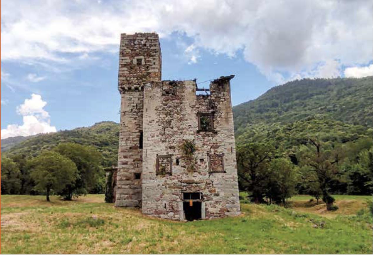 La Torre Colombera a Berzo INferiore - La cultura altrove - Valle Camonica