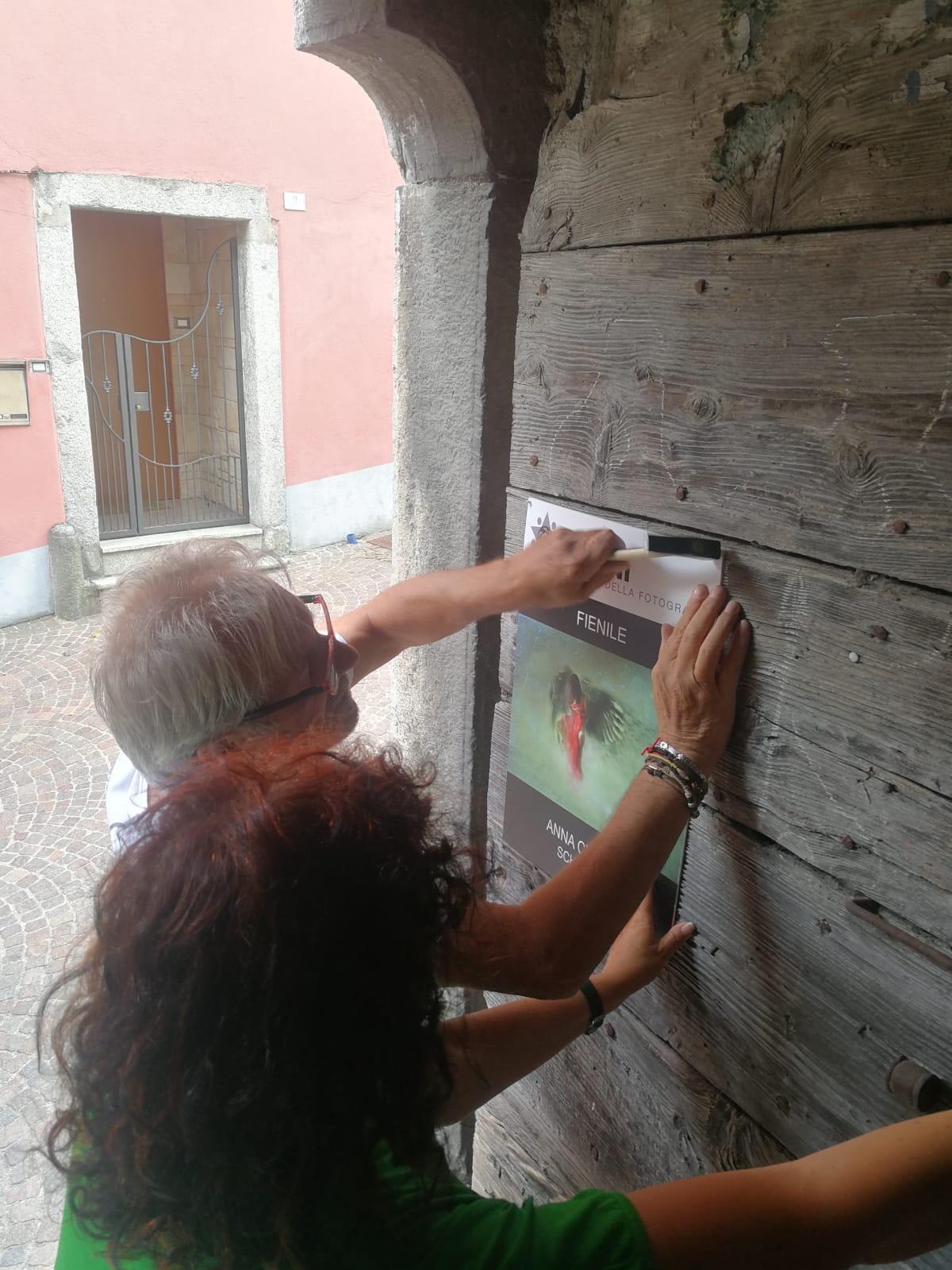 SEGNI Festival della Fotografia 2021 - Valle Camonica - allestimenti