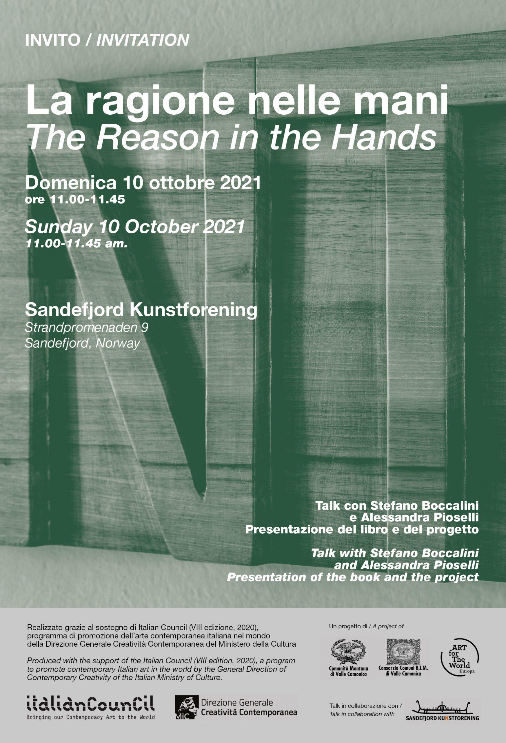 la ragione nelle mani a sandefjord norvegia