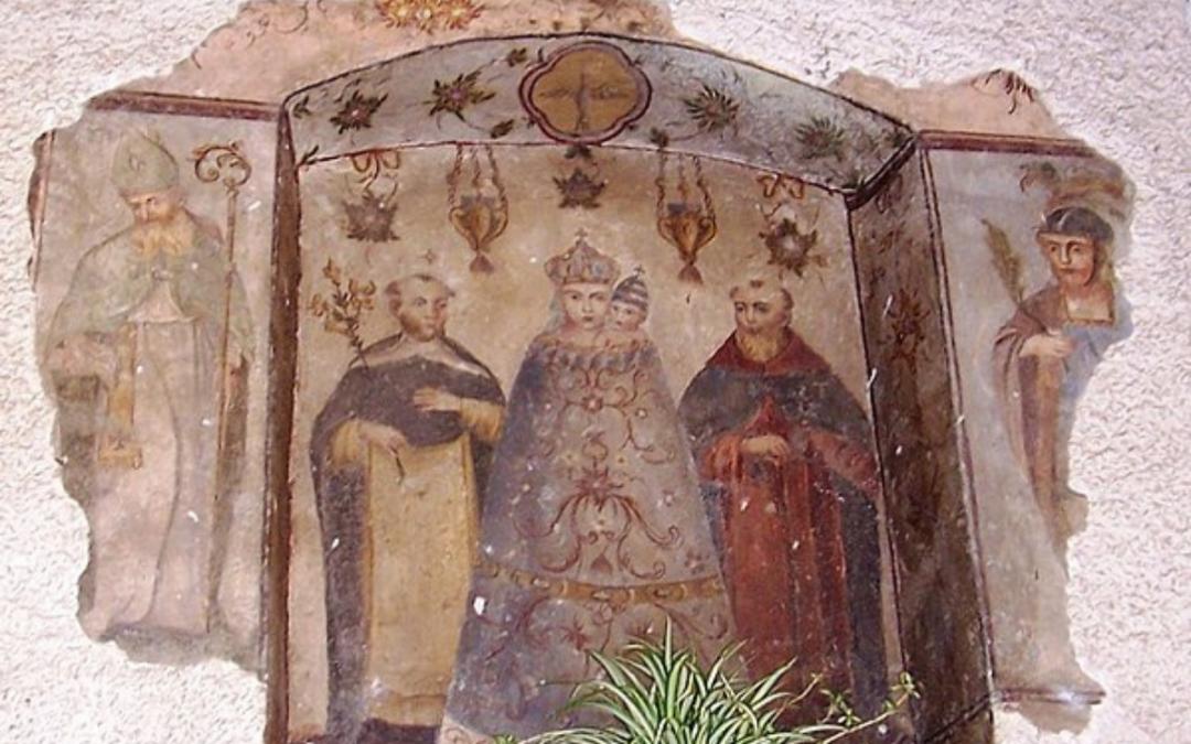 Santella a Grevo - patrimonio culturale diffuso valle camonica