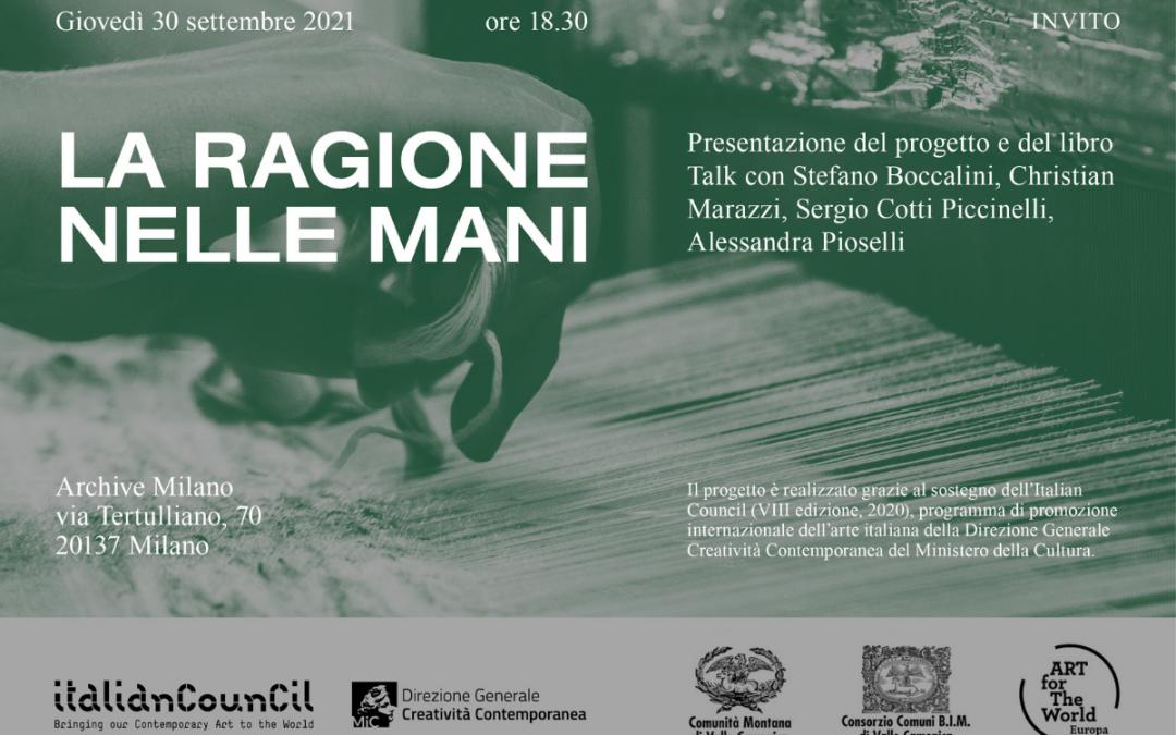 il tour europeo de La ragione nelle mani di Stefano Boccalini - Archive Milano